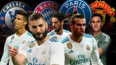 Los grandes de Europa quieren pescar en el Real Madrid.