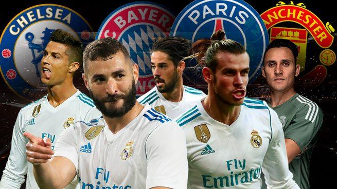 Los grandes de Europa quieren pescar en el Real Madrid