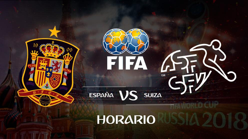 España – Suiza: horario y canal de televisión para ver el partido.
