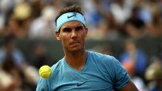 Nadal, en su partido frente a Gasquet en Roland Garros. (AFP)