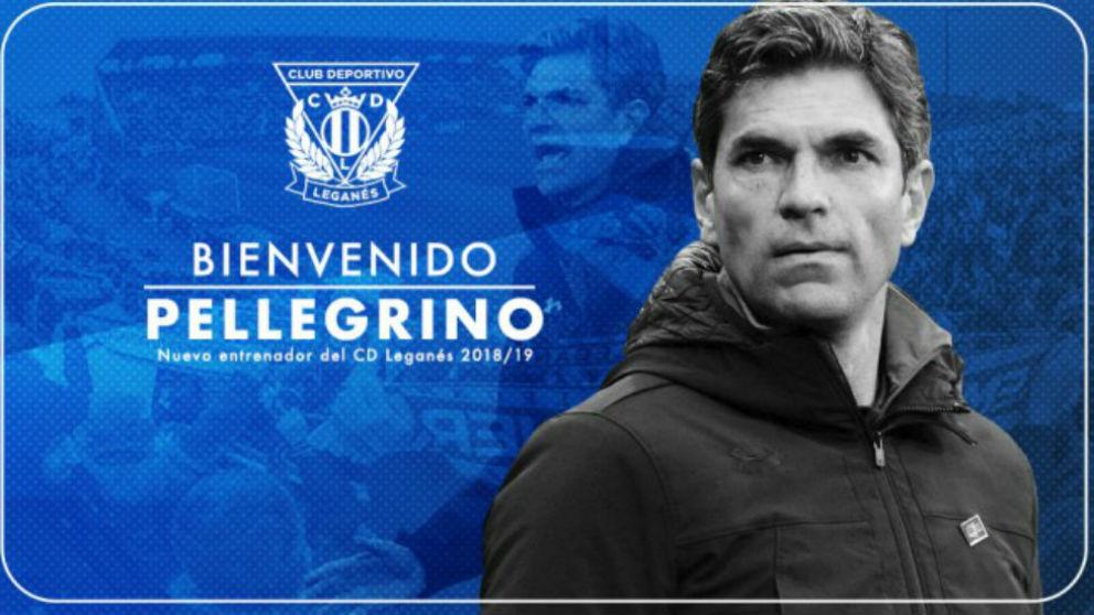 Pellegrino, nuevo entrenador del Leganés.
