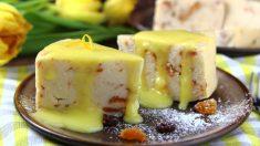 Receta de Bizcocho de plátano y limón fácil de preparar