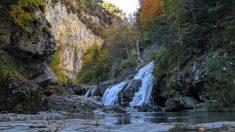 Cauce del río Yaga (Huesca).