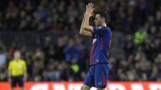 Sergio-Busquets,-tras-un-encuentro-en-el-Camp-Nou-esta-temporada-(AFP)