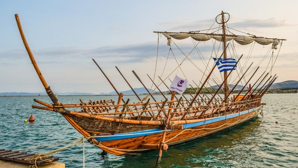 Reconstrucción de nave argonauta