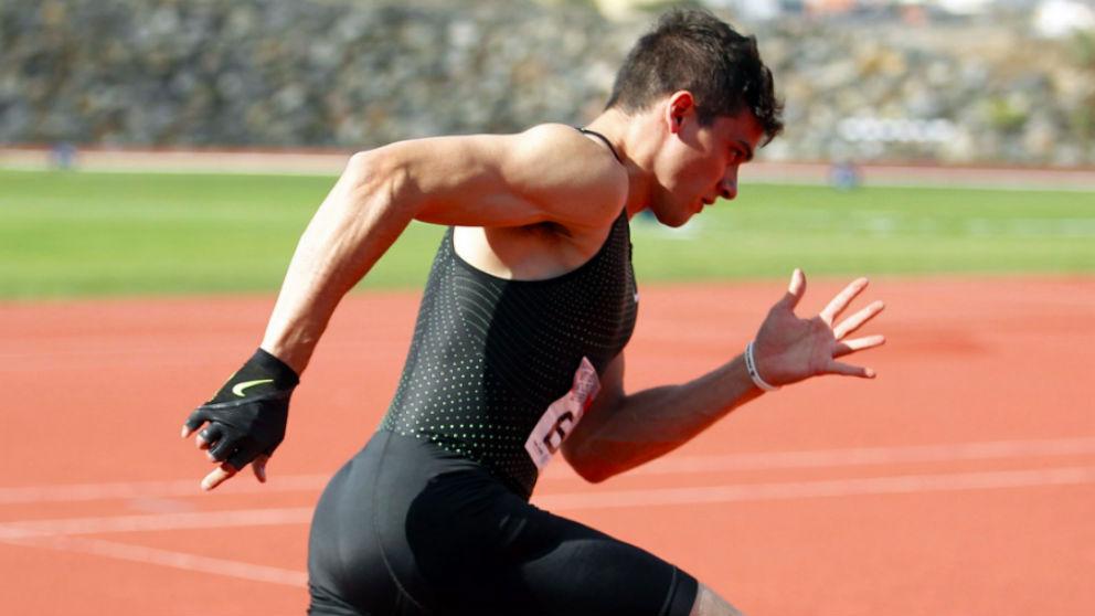 Bruno Hortelano, en un entrenamiento reciente.