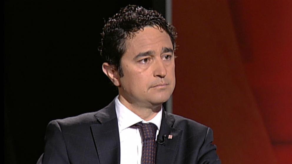 Damià Calvet, conseller de territorio de la Generalitat.
