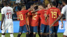 España empató contra Suiza en el penúltimo partido antes del Mundial. (Getty) | Mundial 2018: España