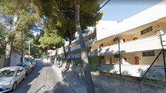 La calle Terranova de Magaluf, en Baleares, donde dos turistas han perdido la vida al caerse de un balcón del mismo edificio en lo que va de año.