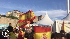 """Miles toman la plaza de Colón de Madrid exigiendo """"¡elecciones!""""."""