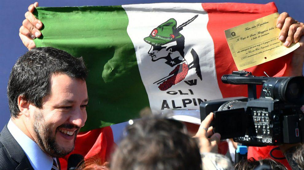 Matteo Salvini, líder de la ultraderechista Liga y ministro del Interior de Italia. (AFP)