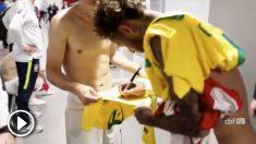 Neymar y Modric