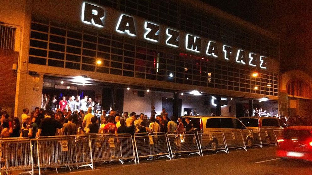 La sala Razzmatazz de Barcelona.
