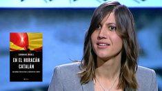 Sandrine Morel, corresponsal de 'Le Monde' en España, y su libro 'En el huracán catalán'.