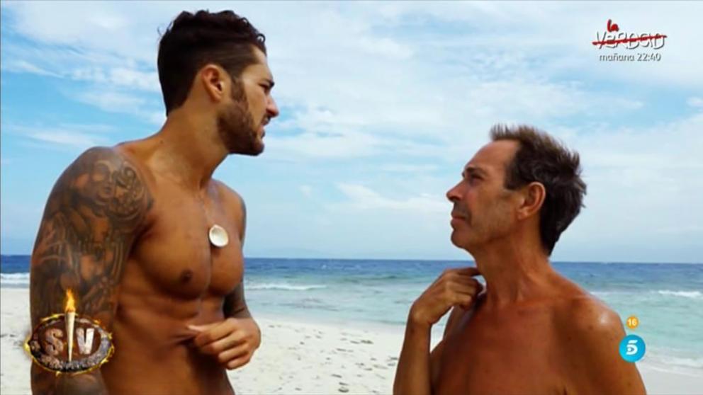 Joao y Hugo han tenido tensión estos días en 'Supervivientes'
