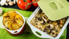 Receta de Canelones de setas con jamón fácil de preparar