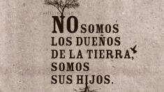Manifiesto ecologista de Adolfo Domínguez (Foto. AD)