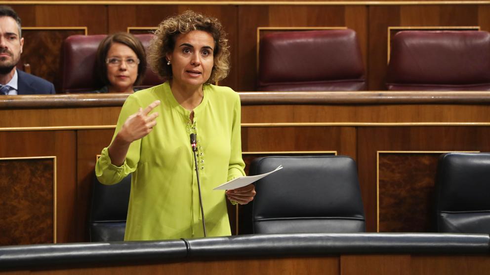 Dolors Montserrat, portavoz del PP en el Congreso.