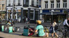 Trabajador de Deliveroo en Bélgica (Foto: iStock)
