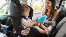 Las ventajas de que los niños viajen a contramarcha