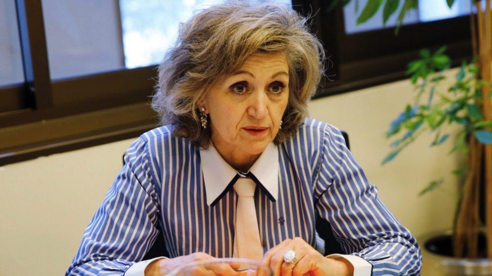 La Alta Comisionada para la pobreza infantil, María Luisa Carcedo. (Foto: PSOE)