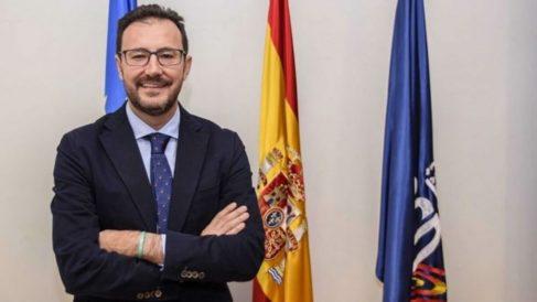 Miguel Ángel Machado, presidente de la Federación Española de Tenis de Mesa