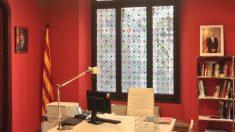 Despacho del nuevo conseller de Acción Exterior, Relaciones Institucionales y Transparencia de la Generalitat, Ernest Maragall