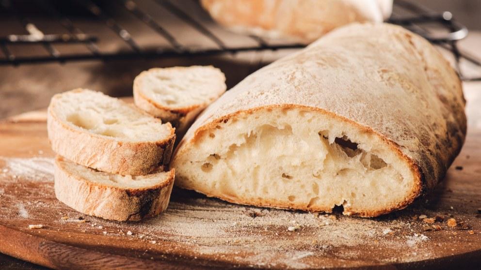 Receta de Pan de trigo casero fácil de preparar