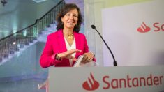La presidenta del Banco Santander, Ana Botín (Foto: EFE).
