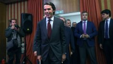 José María Aznar, expresidente del Gobierno (Foto: EFE)