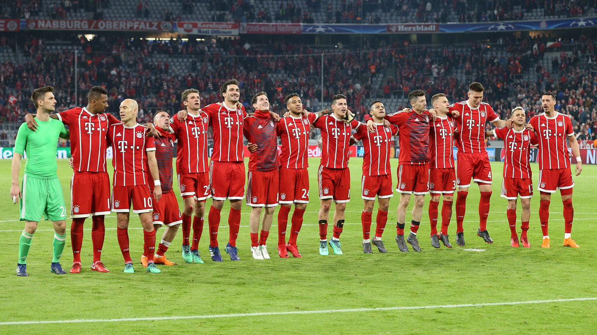 Bayern de Munich. (Getty)