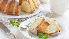 Receta de Bundt cake de limón esponjoso fácil de preparar