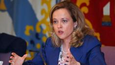 Nadie Calviño, vicepresidenta económica.