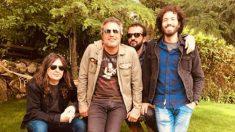 Carlos Tarque y el grupo de músicos que lo acompañan en su aventura en solitario fuera de M Clan.