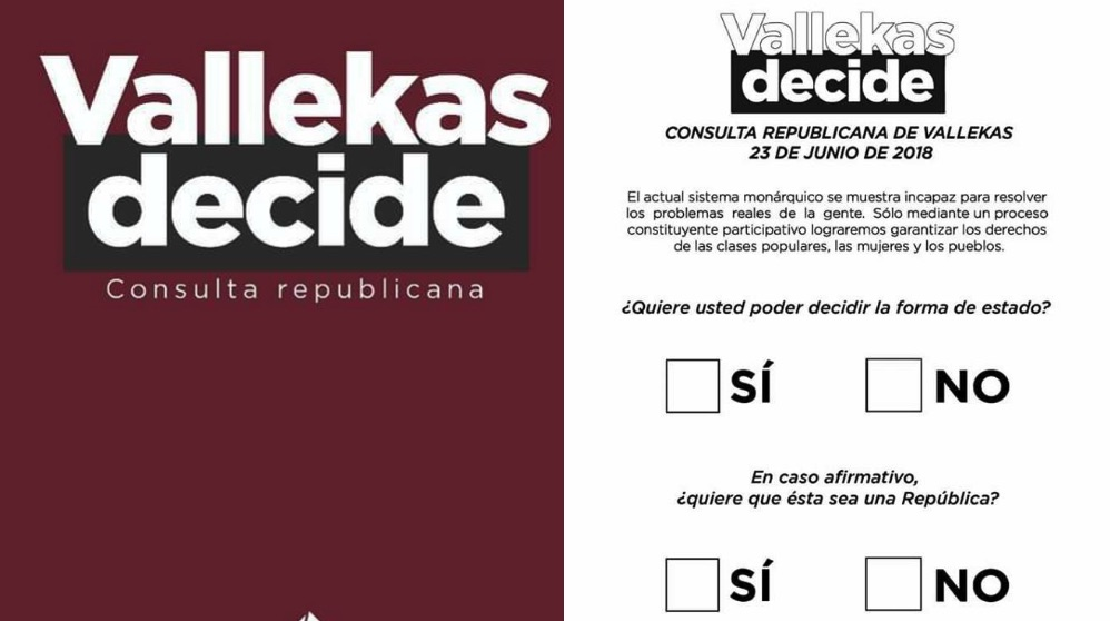Consulta republicana en Vallecas.