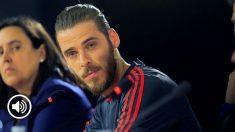 De Gea habla de su futuro y de su posible marcha al Real Madrid.