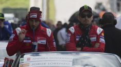 Andrea Dovizioso ha afirmado que no espera ningún tipo de ayuda por parte de Jorge Lorenzo de cara a la posible consecución del título mundial de MotoGP. (Getty)