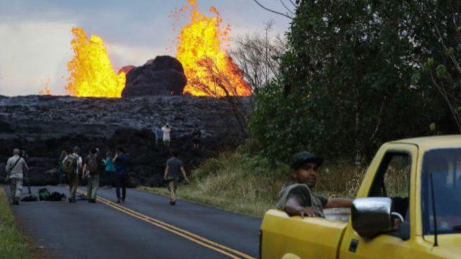 Volcán Kilauea en Hawái no da tregua