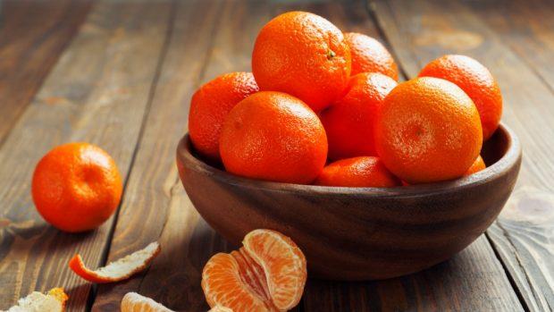 Receta de crema de mandarina