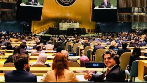 Jorge Moragas, embajador de España en la ONU