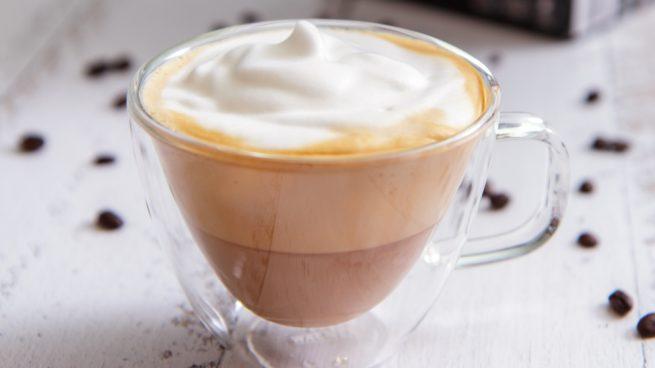 como hacer cafe espumoso sin azucar