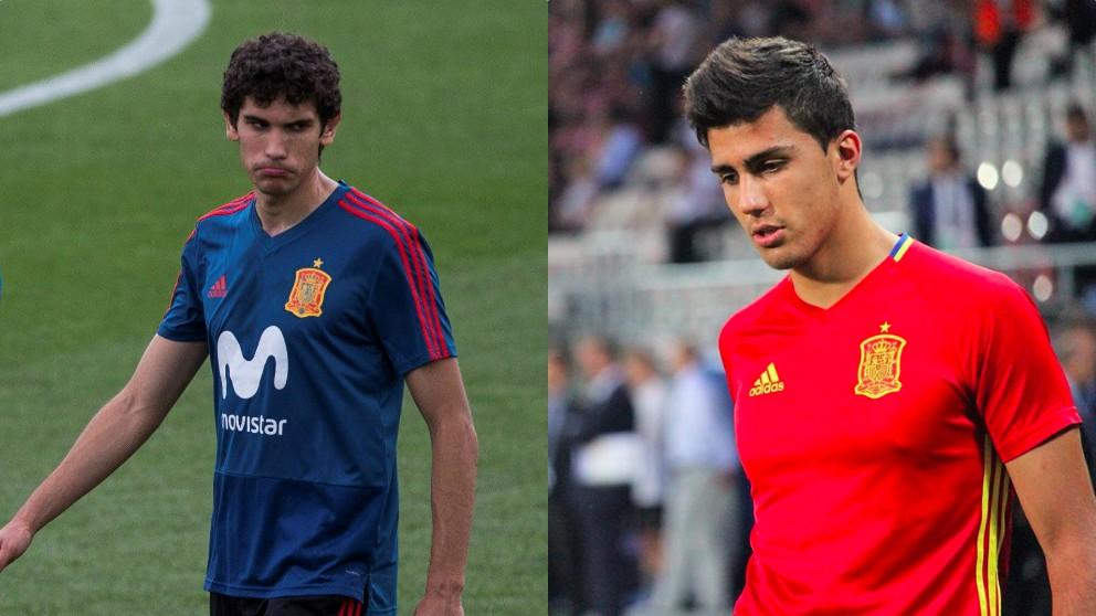 Jesús Vallejo y Rodrigo Hernández.
