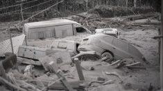 Efectos de la erupción del volcán en Guatemala. (Foto: AFP)