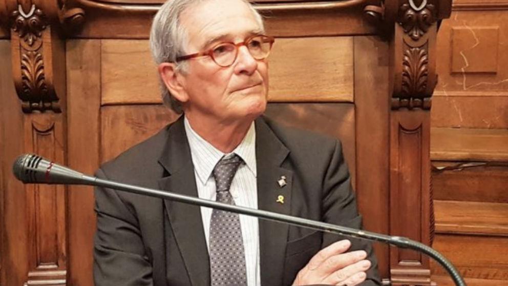 El líder del PDeCAT en el Ayuntamiento de Barcelona, Xavier Trias.