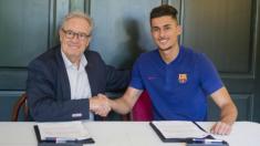 Chumi, el juvenil del Barça con una cláusula de 100 millones