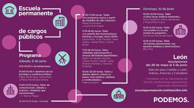Una condenada por fraude laboral formará a los candidatos de Podemos para 2019