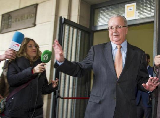 El exconsejero de la Junta de Andalucía Antonio Fernández