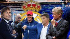 Los entrenadores en paro que pueden llegar al Bernabéu.