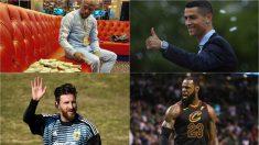Los 20 deportistas mejor pagados del año, según la revista Forbes.