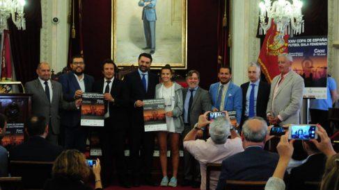 Presentación en el Ayuntamiento de Cádiz